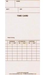 106456 Clock Cards